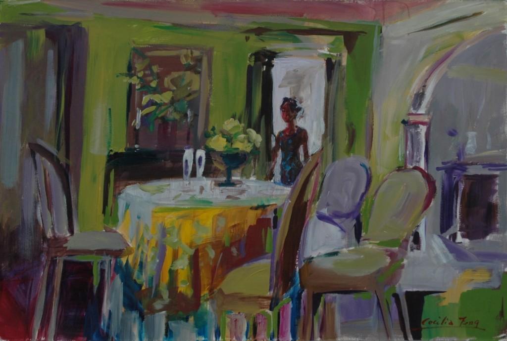 Interior landscape Acrylic, 2002 (Medium)