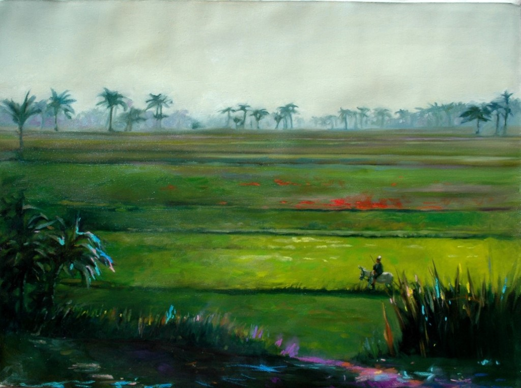 landscape,oil, 60x80cm, 2006, sold (Medium)